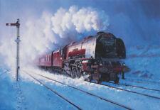 46240 City of Coventry Duchess Class LMS BR John Austin Train Painting Art Print