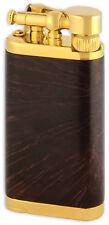 Old Boy IM Corona Butane Pipe Lighter 90 Degree Flame Gold Chestnut Smooth 1205