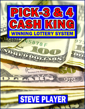 WINNING TEXAS CASH KING LOTTERY SYSTEM - PICK-3 & PICK-4 Steve Player