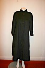 KRISTEN BLAKE  WOMEN   BLACK  COAT WOOL BLEND MADE IN USA SIZE 12