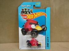 Hot Wheels Angry Birds Red Diecast Car 1/64 Scale HW City