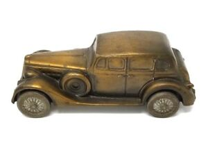 "RARE 7"" Banthrico Mechanic's Building & Loan Assoc. PA 1937 Packard V-12 Bank"