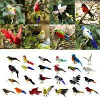 Künstliche Gefiederte Vogel Realistische Garten Home Decor Vögel