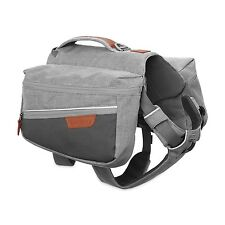 RUFFWEAR COMMUTER DOG BACKPACK - RUCKSACK GREY - MEDIUM