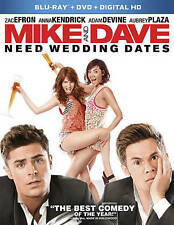 Mike and Dave Need Wedding Dates Blu-ray/DVD includes Digital HD brand new