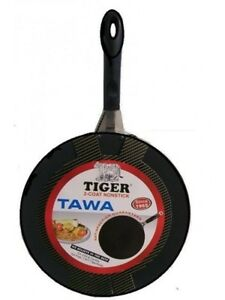Tawa / Flat Cooking Plate for Roti Non Stick 30 cm Tiger (Free post in UK)