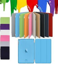 Magnetic 2 Piece Smart Slim Leather Stand Case Cover For iPad Air 2 3 4 Mini Pro
