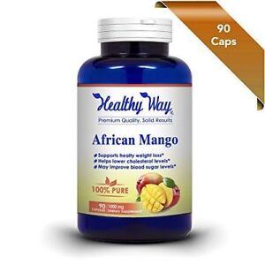 FRESH Best African Mango Cleanse NON-GMO & Gluten Free  FREE SHIPPING