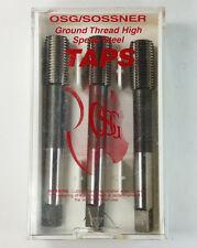 3 Pcs New OSG/SOSSNER Ground Thread M14x1.5 D9 NU-ROLL BOTT 20025340 6H HSS Tap