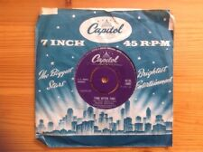 """Frank Sinatra 7""""vinyl """"Time After Time"""" In Ex.Condition 1959 London 45-CL14997"""