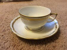 Raynaud Marie Antoinette Tea Cup & Saucer NWT Limoges China