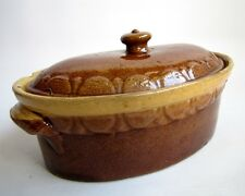 Ancienne Terrine Soufflenheim Poterie Alsace Vintage French Pottery