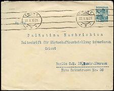 Austria 1935 WIEN a Berlino, HOTEL IMPERIAL Coperchio #C 18167