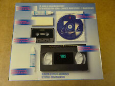 CLEANING KIT FOR VHS VIDEO / AUDIO CASSETTE & CD
