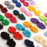 10x 40color loop Chinese frog buttons closures sewing glam fancy cheongsam knot