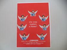 advertising Pubblicità 1962 BACI PERUGINA