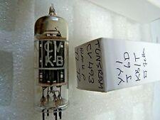 Cv493 6x4 ez90 TUNGSRAM QUADRATO Getter Black P NUOVO VECCHIO STOCK TUBO VALVOLA 1pc m17d