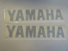 "YAMAHA DECAL PAIR (2) DARK TEAL 13 1/2"" X 2 5/8"" MARINE BOAT"