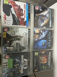 Lot de 25 jeux vidéo PS3 (Fifa, Call of duty, minecraft, need for speed...)