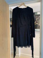 Lavish Alice Tassle Dress Size 10