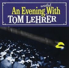 TOM LEHRER : EVENING WASTED WITH (CD) sealed