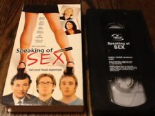 Speaking of sex VHS USED COMEDY LARA FLYNN BOYLE JAMES SPADER FREE US SHIPPING