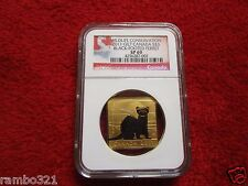 2011 Canada $3 Black- Footed Ferret NGC SP69 Gold & Silver .999 Canadian Coin
