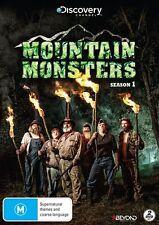 Mountain Monsters : Season 1 (DVD, 2015, 2-Disc Set) BRAND NEW & SEALED