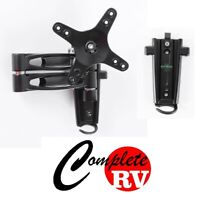 DUAL arm LCD TV bracket with 2 mounting brackets Caravan RV Parts Motor Home
