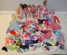 VINTAGE BARBIE Dolls LARGE LOT Outfits Accessories Dog Clothes Pets Bicycle HUGE