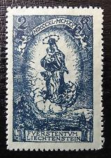 Liechtenstein Mer 42 **, compleanno di principe Johann II
