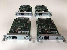 CISCO hwic-1adsl Lot en gros paquet x 4 modules pour routeurs 45 JOURS GARANTIE