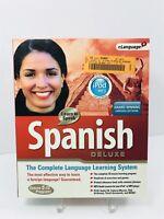 New Elanguage Learn to Speak Spanish 9 Deluxe