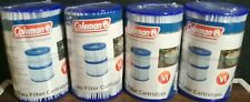 (8) BESTWAY / COLEMAN Spa Filter Pump Replacement Cartridge Type VI SaluSpa
