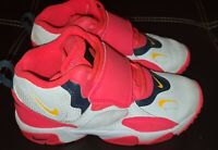 Nike Air Speed Turf White Laser Orange Athletic Shoes US 1.5 Youth BV2526-102