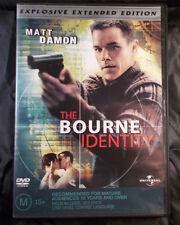 The Bourne Identity - Matt Damon - Region 2&4 - Explosive Extended Edition DVD