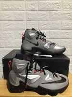 "Nike LeBron 13 ""Rubber City"" Men Basketball Shoes Sneakers (807219-003) Sz 12"