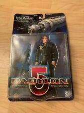 Babylon 5 Captain John Sheridan Earthforce With Space Station Action Figure Wb