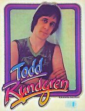Original Vintage 1981 Todd Rundgren Iron On Transfer