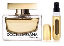 D&G The one Dolce&Gabbana The One EDP for Her 5ml Refillable Spray +Travel Pouch