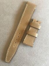 Tudor Calfskin Leather Watch Strap 19mm Heritage Ranger Black Bay Bronze Bronzo