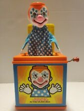 VINTAGE MATTEL 1976 JACK IN THE MUSIC BOX - CLASSIC TOYS -  - WORKS!