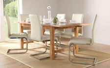 Oak Farmhouse Up to 10 Seats Table & Chair Sets