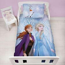 Disney Frozen 2 Junior Set Housse de Couette Élément Lit Bébé Filles Polycoton