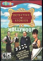Detective Stories Hollywood PC Video game Brand New & Sealed w Slipcover