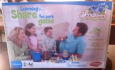 Learning To Share Fun Park Game, Playskool Games, Preschool Ages 4+, 2-4 Players