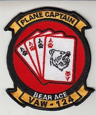 VAW-124 BEAR ACE PLANE CAPTAIN PATCH