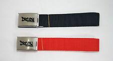 'DREADY' Tela Cintura Fettuccia PACCO DOPPIO ROSSO/BLU SCURO Per fino a a