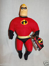 "NEW WITH TAGS DISNEY PIXAR 2004 THE INCREDIBLES MR. INCREDIBLE 10""PLUSH"