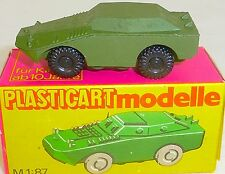 SPW 40 P Army Solid Zinc Casting GDR Veb Plasticart 1103 Berlin OVP H0 #HN5 Å